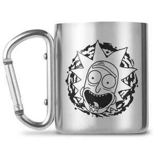 Rick And Morty Carabiner Mug