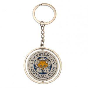 Leicester City FC Spinner Keyring