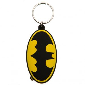 Batman PVC Keyring Logo