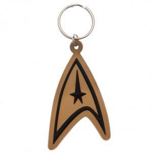 Star Trek PVC Keyring Insignia
