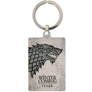 Game Of Thrones Metal Keyring Stark