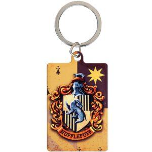 Harry Potter Metal Keyring Hufflepuff