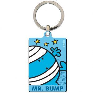 Mr Bump Metal Keyring