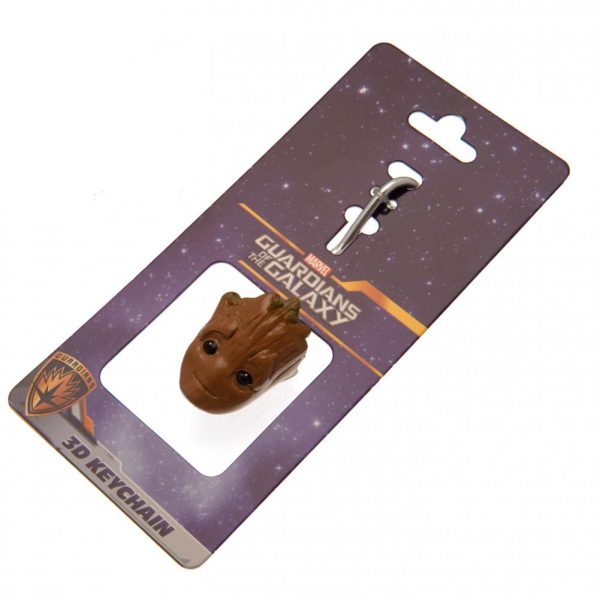 Guardians Of The Galaxy 3D Polyresin Keyring Groot
