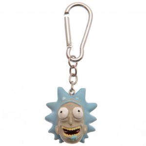 Rick And Morty 3D Polyresin Keyring Rick