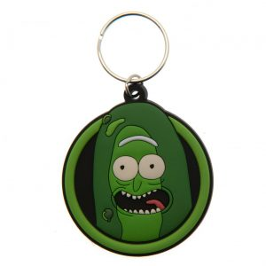 Rick And Morty PVC Keyring Pickle Rick