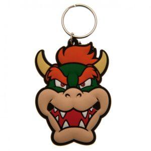 Super Mario PVC Keyring Bowser