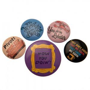 Friends Button Badge Set