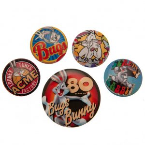 Looney Tunes Button Badge Set