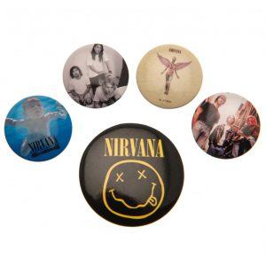 Nirvana Button Badge Set