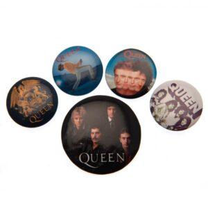 Queen Button Badge Set