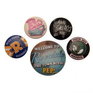 Riverdale Button Badge Set