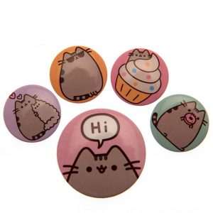 Pusheen Button Badge Set