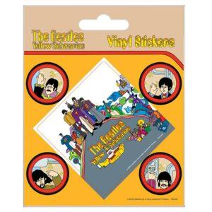 The Beatles Stickers Yellow Submarine