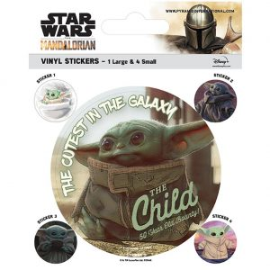 Star Wars The Mandalorian Stickers