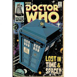 Doctor Who Poster Tardis 222