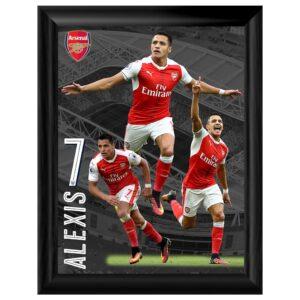 Arsenal FC Framed Print Sanchez 16 x 12