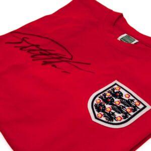 England FA Sir Geoff Hurst Signed Shirt