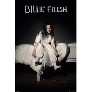 Billie Eilish Poster Bed 128