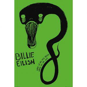 Billie Eilish Poster Ghoul 129