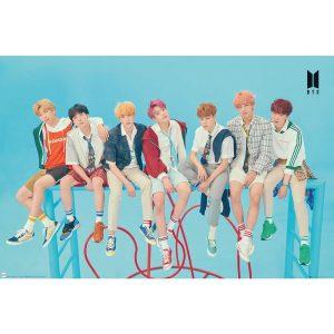 BTS Poster Blue 268