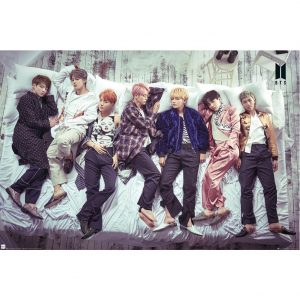 BTS Poster Bed 121