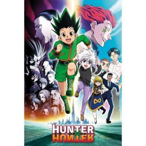 Hunter X Hunter Poster Running 86