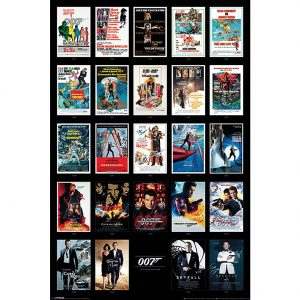 James Bond Poster Movies 220