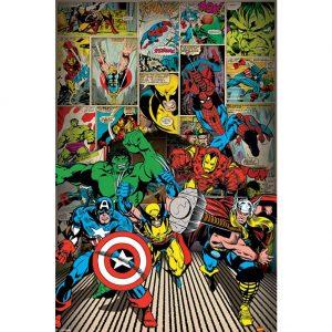 Marvel Comics Poster Heroes 111