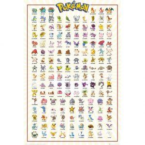 Pokemon Poster Kanto 188