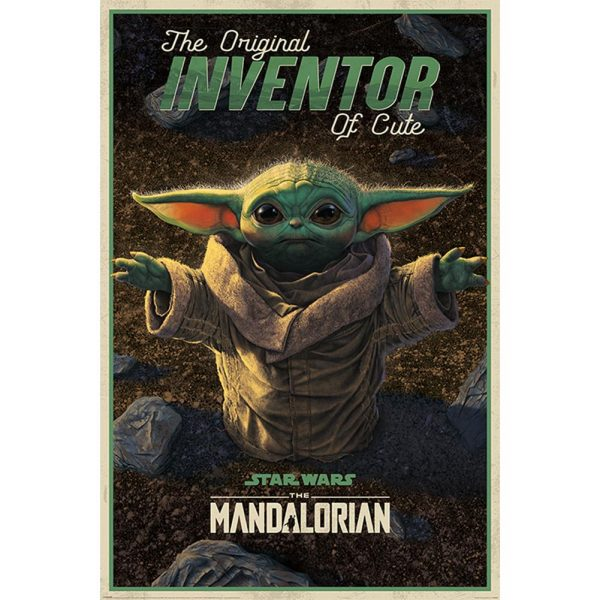 Star Wars The Mandalorian Poster Inventor of Cute 174