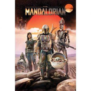 Star Wars The Mandalorian Poster Group 89