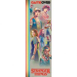 Stranger Things Door Poster Game Over 304