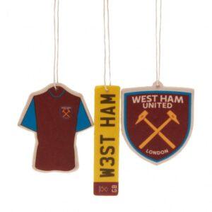 West Ham United FC 3pk Air Freshener