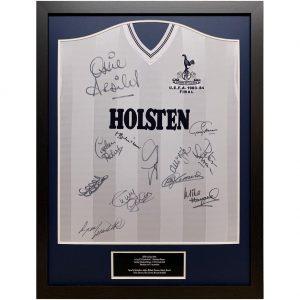 Tottenham Hotspur FC 1984 UEFA Cup Final Signed Shirt (Framed)