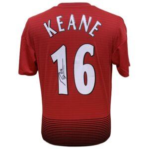 Manchester United FC Keane Signed Shirt