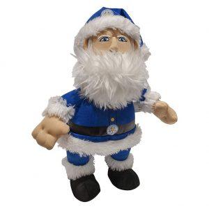Leicester City FC Plush Santa