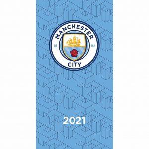 Manchester City FC Pocket Diary 2021