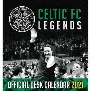 Celtic FC Desktop Calendar 2021