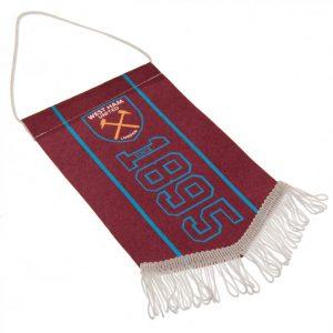 West Ham United FC Mini Pennant SN