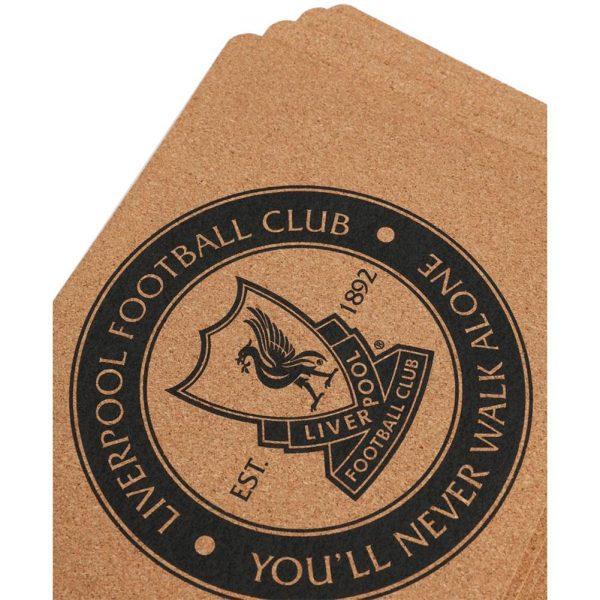 Liverpool FC 4pk Cork Placemat Set