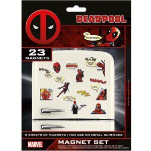 Deadpool Fridge Magnet Set