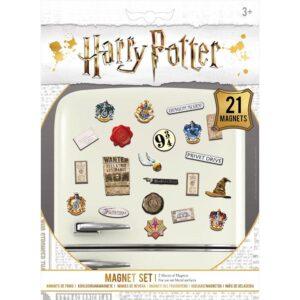 Harry Potter Fridge Magnet Set