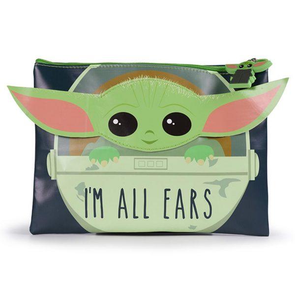 Star Wars The Mandalorian Pencil Case I'm All Ears