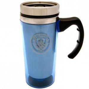 Manchester City FC Handled Travel Mug