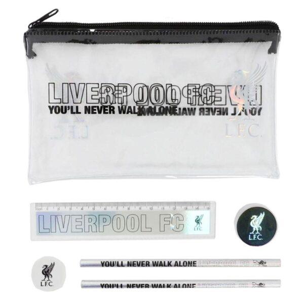 Liverpool FC Black & Silver Stationery Set