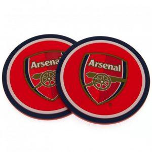 Arsenal FC 2pk Coaster Set