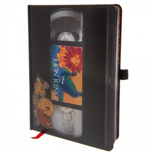The Lion King Premium Notebook VHS