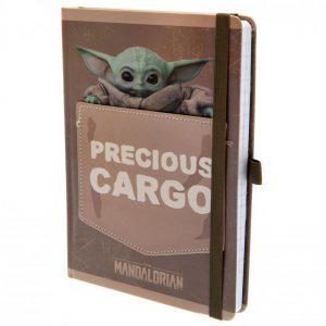 Star Wars The Mandalorian Premium Notebook Precious Cargo