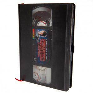 Stranger Things Premium Notebook VHS S1